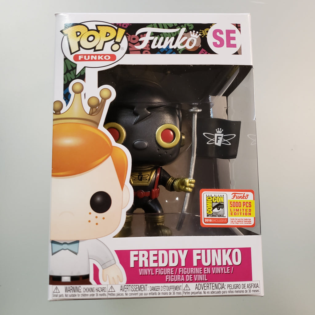 Freddy Funko Pop! Vinyl Figure Space Robot (Black) (LE5000) [SE]