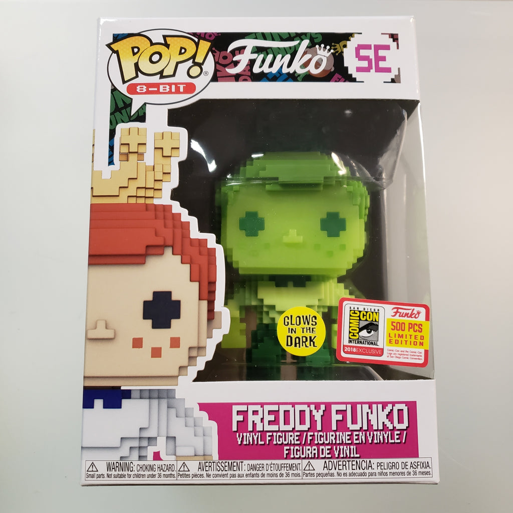 Freddy Funko Pop! Vinyl Figure 8 Bit Green Glow (LE500) [SE]