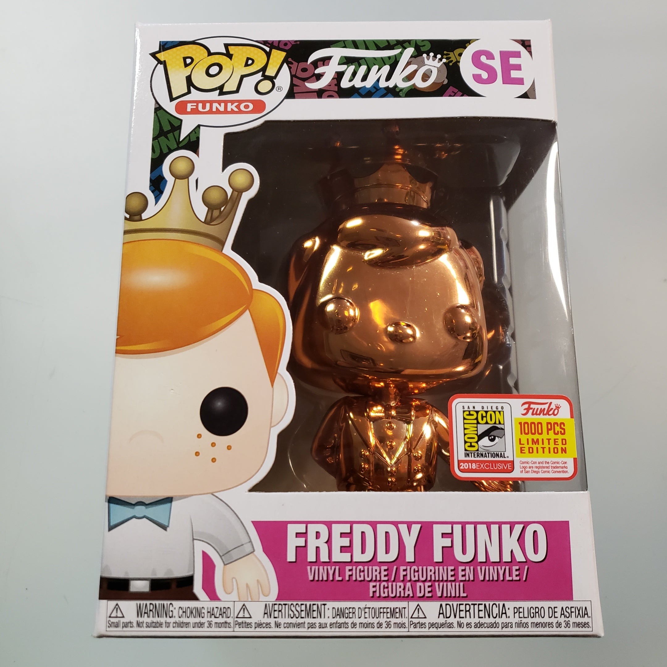 Freddy Funko Pop! Vinyl Figure Copper Chrome (LE1000) [SE] - Fugitive Toys