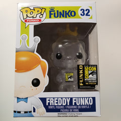 Freddy Funko Pop! Vinyl Figure Clear SDCC Sign (LE96) [32] *CREASED*