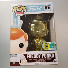 Freddy Funko Pop! Vinyl Figure Gold Chrome (LE24) [SE]