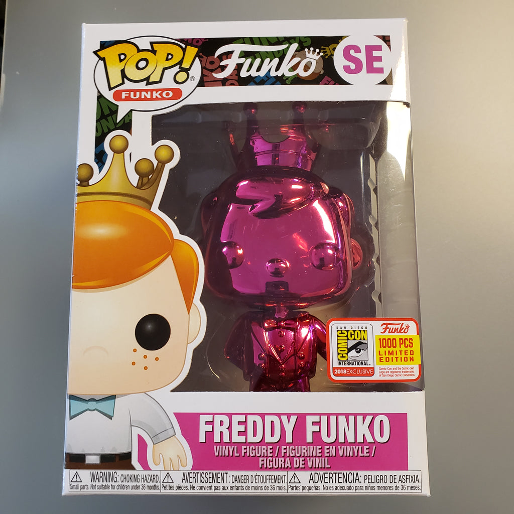 Freddy Funko Pop! Vinyl Figure Emerald Pink Chrome (LE1000) [SE]