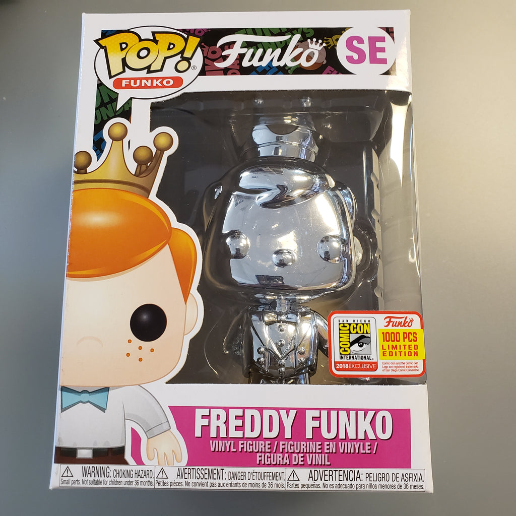 Freddy Funko Pop! Vinyl Figure Emerald Silver Chrome (LE1000) [SE]