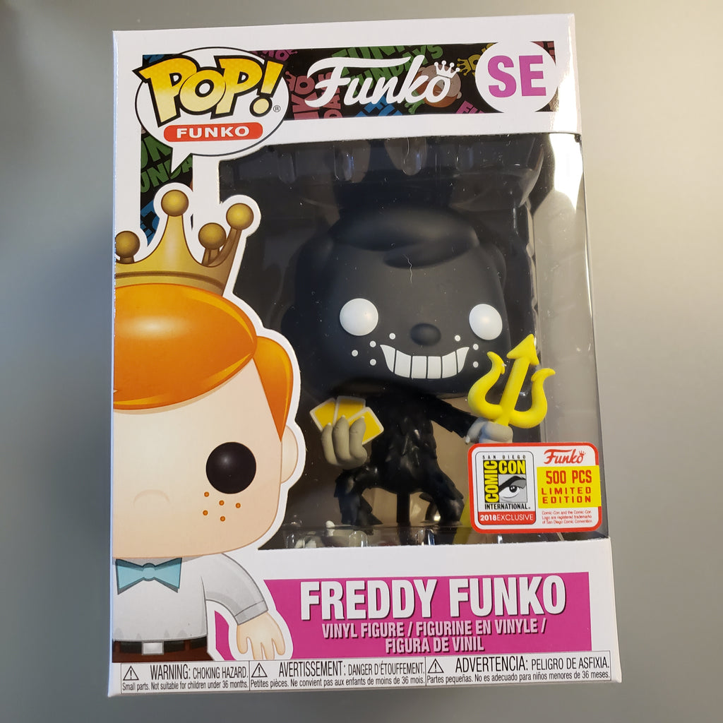 Freddy Funko Pop! Vinyl Figure The Devil (Black) (LE500) [SE]