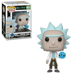 Rick and Morty Pop! Vinyl Figure Rick with Crystal Skull [692]
