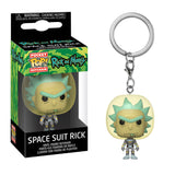 Rick and Morty Pocket Pop! Keychain Space Suit Rick - Fugitive Toys