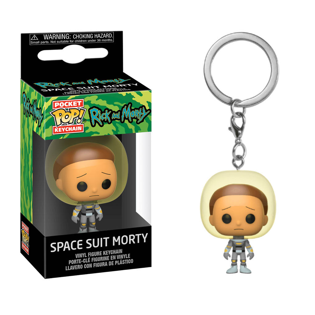 Rick and Morty Pocket Pop! Keychain Space Suit Morty - Fugitive Toys