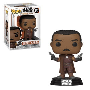 Star Wars The Mandalorian Pop! Vinyl Figure Greef Karga [347]