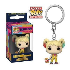 Birds of Prey Pocket Pop! Keychain Harley Quinn (Boobytrap Battle)