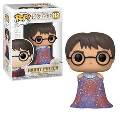 Harry Potter Pop! Vinyl Figure Harry Potter (w/ Invisibility Cloak) [112] - Fugitive Toys