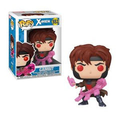 X-Men Pop! Vinyl Figure Gambit (with Cards) [553] - Fugitive Toys