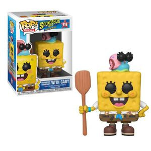 The Spongebob Movie: Sponge On The Run Pop! Vinyl Figure Spongebob Squarepants with Gary [916]