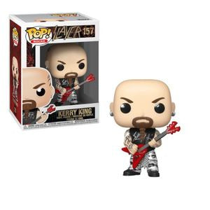 Slayer Pop! Vinyl Figure Kerry King [157] - Fugitive Toys