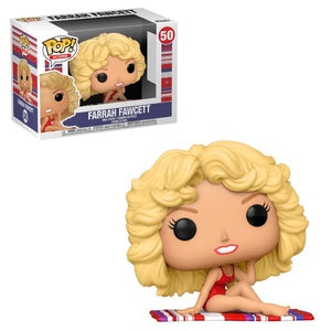 Icons Pop! Vinyl Figure Farrah Fawcett [50]