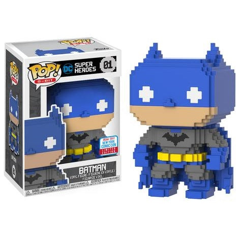 8-Bit Pop! Vinyl Figure Blue & Grey Batman [NYCC 2017 Exclusive] [1]