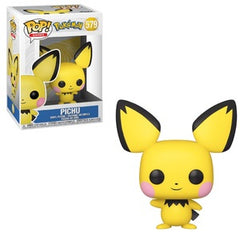 Pokemon Pop! Vinyl Figure Pichu [579] - Fugitive Toys