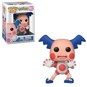 Pokemon Pop! Vinyl Figure Mr. Mime [582] - Fugitive Toys