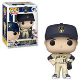MLB Pop! Vinyl Figure Christian Yelich [Milwaukee Brewers] [41] - Fugitive Toys