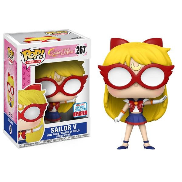 Anime Pop! Vinyl Figure Sailor V [Sailor Moon] [NYCC 2017 Exclusive] [267]