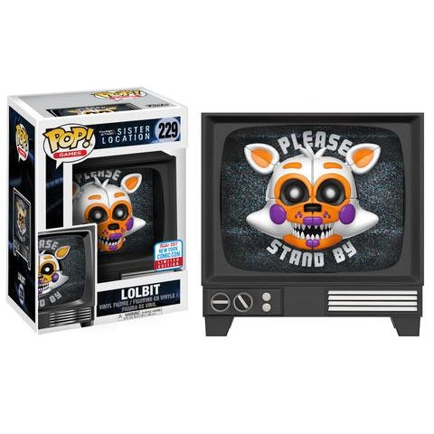 Five Nights at Freddy's Pop! Vinyl Lolbit [Sister Location] [NYCC 2017 Exclusive] [229]