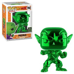 Dragon Ball Z Pop! Vinyl Figure Piccolo (Green Chrome) [ECCC Shared Sticker] [760] - Fugitive Toys