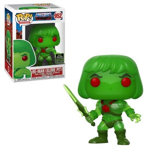 Masters of the Universe Pop! Vinyl Figure He-Man (Slime Pit) [ECCC Shared Sticker] [952]