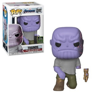 Marvel Pop! Vinyl Figure Thanos (Detachable Arm) [ECCC Shared Sticker] [592]