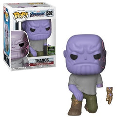 Marvel Pop! Vinyl Figure Thanos (Detachable Arm) [ECCC Shared Sticker] [592] - Fugitive Toys