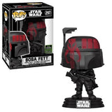 Star Wars Pop! Vinyl Figure Boba Fett (Futura Black) [ECCC Shared Sticker] [297] - Fugitive Toys