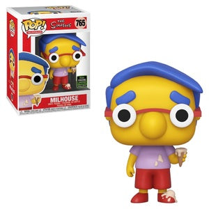 The Simpsons Pop! Vinyl Figure Milhouse [ECCC Shared Sticker] [765]