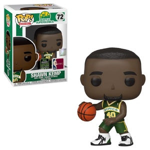 NBA Pop! Vinyl Figure Shawn Kemp [Seattle Supersonics] [ECCC Shared Sticker] [72] - Fugitive Toys