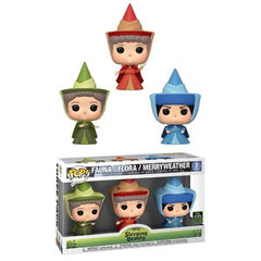Disney Pop! Vinyl Figure Fauna Flora Merryweather [3 Pack] [ECCC Shared Sticker]