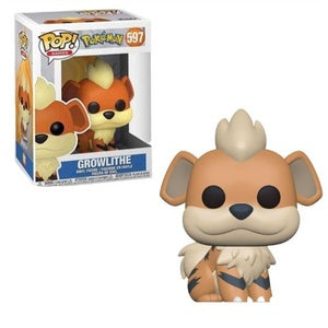 Pokemon Pop! Vinyl Figure Growlithe [597]