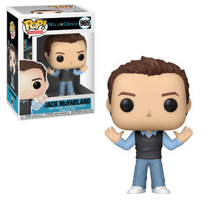 Will & Grace Pop! Vinyl Figure Jack McFarland [969] - Fugitive Toys
