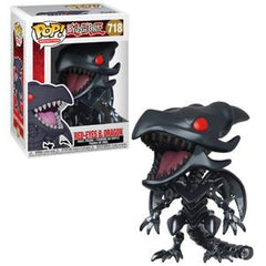 Yu-Gi-Oh! Pop! Vinyl Figure Red Eyes Black Dragon [718]