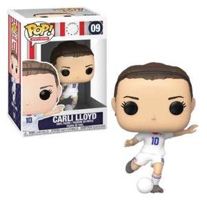 United States Woman's National Team Pop! Vinyl Figure Carli Lloyd [09] - Fugitive Toys
