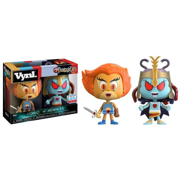 VNYL: ThunderCats 2-pack - Lion-O & Mumm-Ra [NYCC 2017 Exclusive]