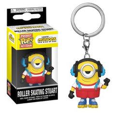 Minions: The Rise of Gru Pocket Pop! Keychain Roller Skating Stuart