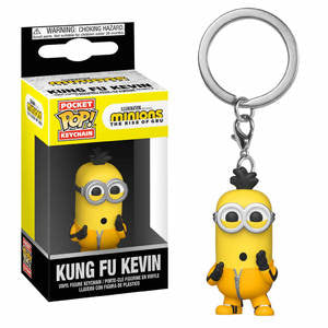Minions: The Rise of Gru Pocket Pop! Keychain Kung Fu Kevin - Fugitive Toys