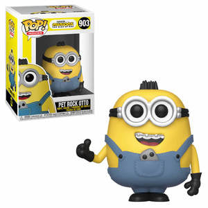 Minions: The Rise of Gru Pop! Vinyl Figure Pet Rock Otto [903]