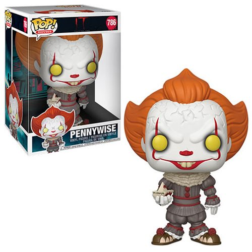 It: Chapter 2 Pop! Vinyl Figure Pennywise with Boat [10-Inch] [786]