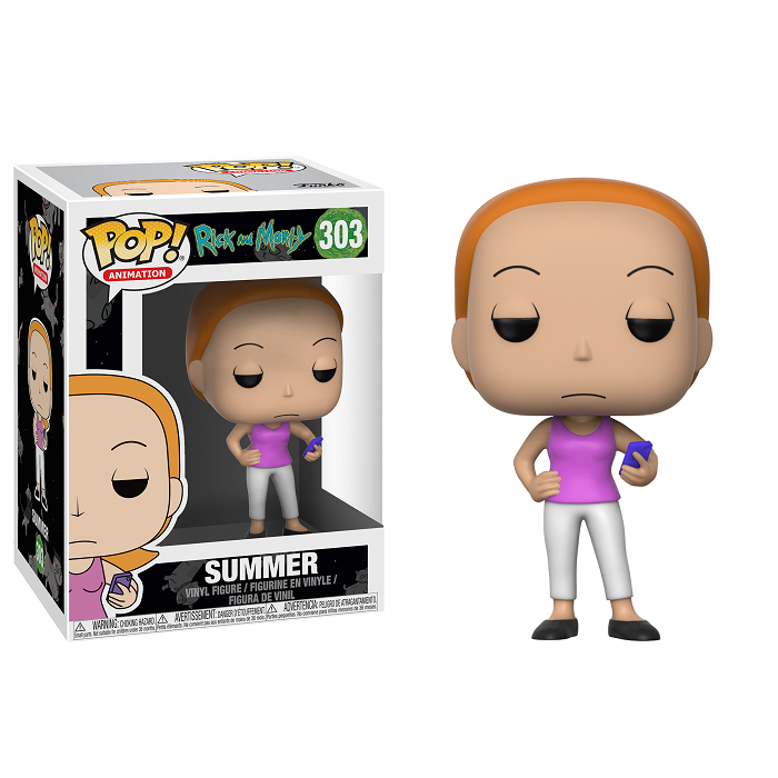 Rick and Morty Pop! Vinyl Figure Summer [303]