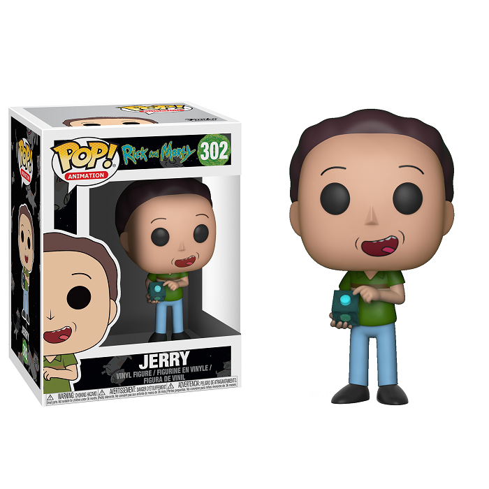Rick and Morty Pop! Vinyl Figure Jerry [302]