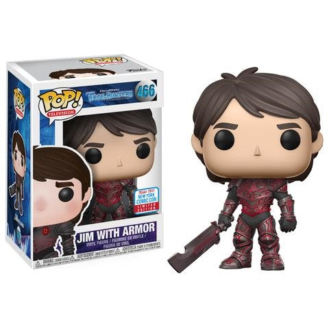 Trollhunters Pop! Vinyl Figure Jim (Red Armor) [NYCC 2017 Exclusive] [466]