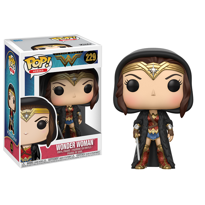 Wonder Woman Movie Pop! Vinyl Figure Wonder Woman Cloak [229]