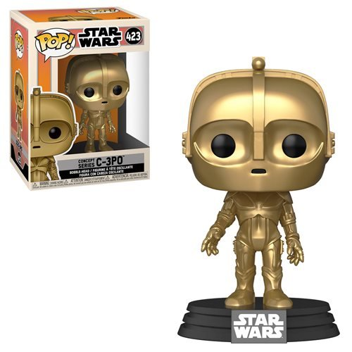 Star Wars Pop! Vinyl Figure Concept Series C-3PO [423]