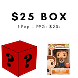 $25 Mystery Box [Red] - Fugitive Toys