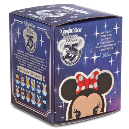 Disney Store 25th Anniversary Vinylmation: (1 Blind Box)