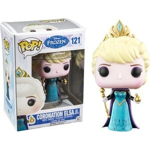 Frozen Pop! Vinyl Figures Coronation Elsa with Orb and Scepter [121]