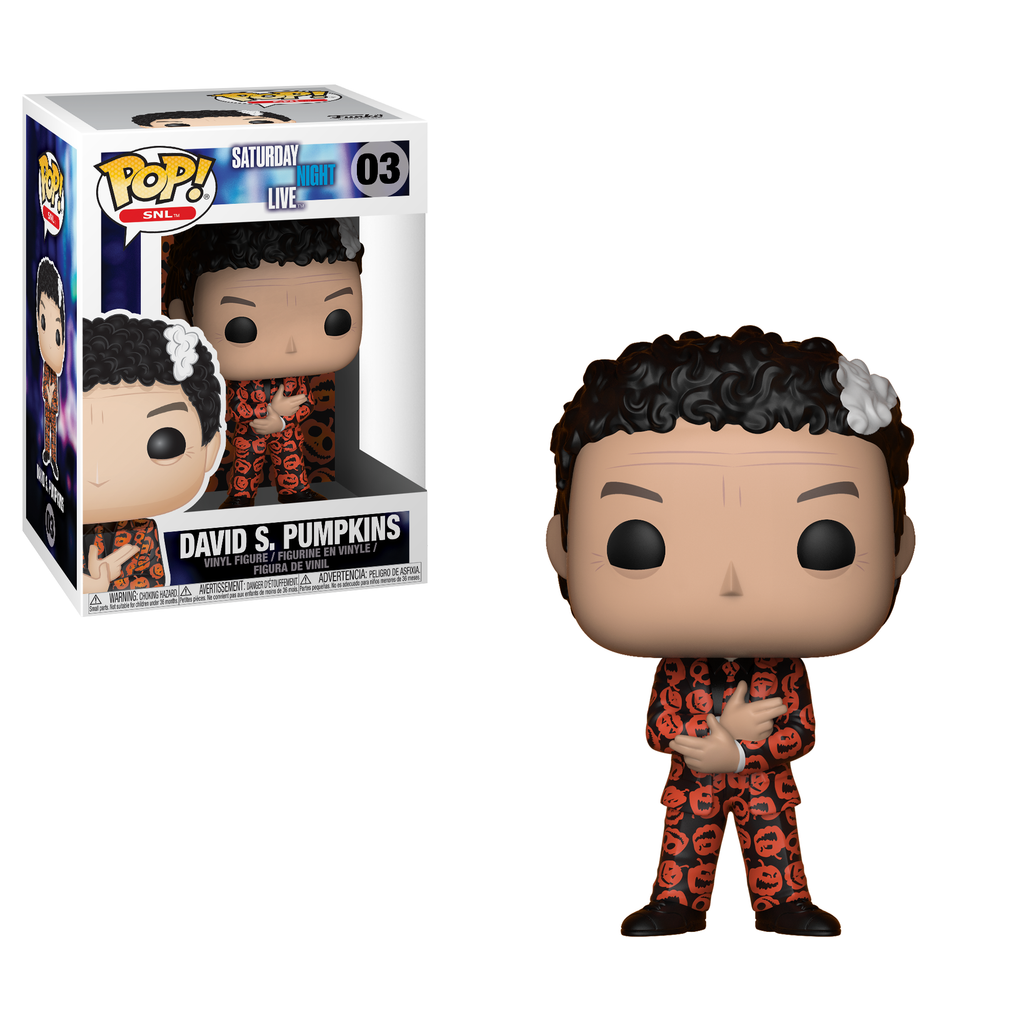 Saturday Night Live Pop! Vinyl Figure David S. Pumpkins [03]
